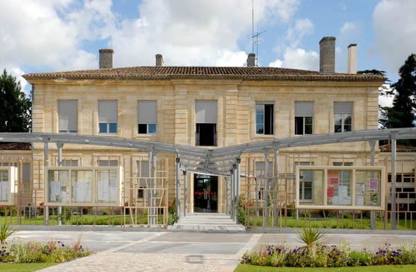 Bertrand nivelle architectures for Piscine de blanquefort